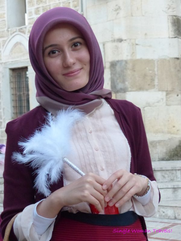 The Turkish bridemaid who asked me take a photo of her after I took a photo of the bride in Safranbolu Turkey