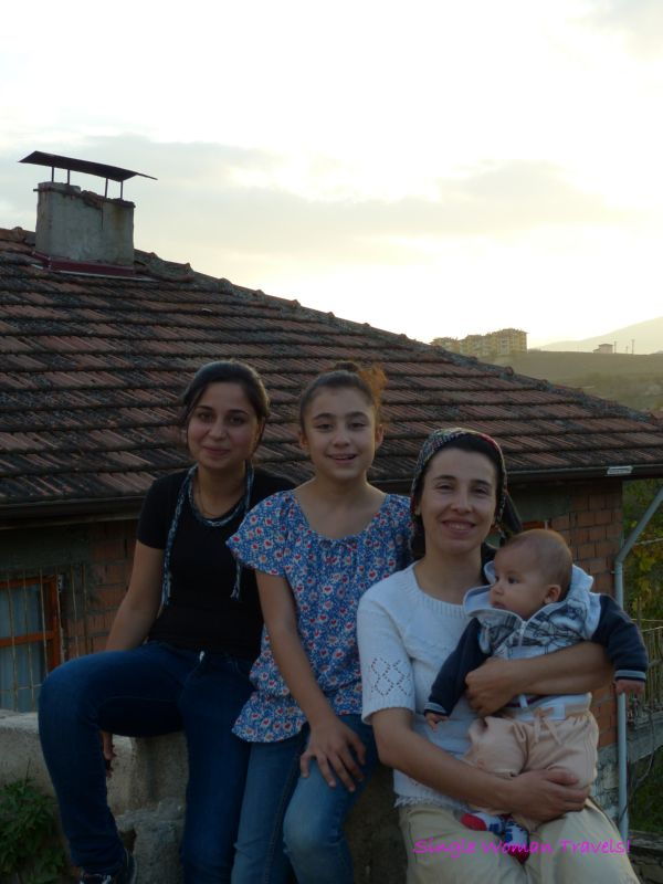 The women of Safranbolu who followed me and asked me to take their photos at sunset