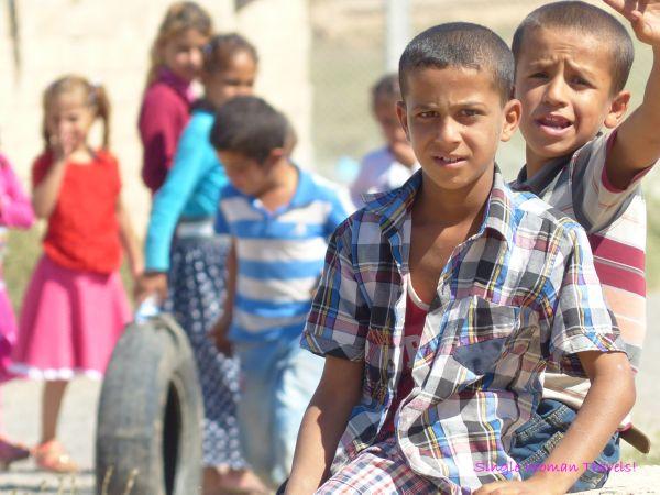 Turkish children in Harran Turkey