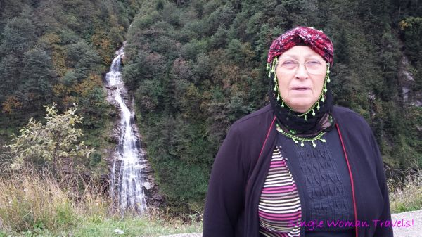 Turkish woman in Ayder Turkey taught me how to say Waterfall in Turkish