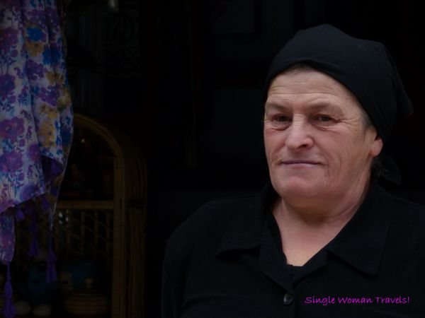 Turkish woman from Ayder Turkey