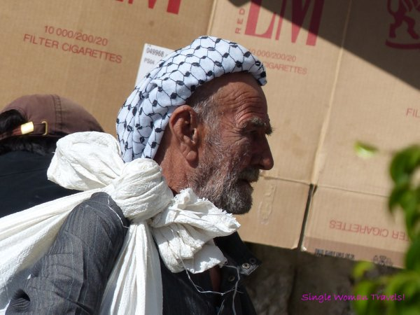 Man inside Bethlehem Palestine