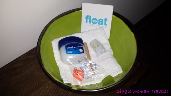 Float Toronto Canada - spa - Sensory deprivation kit