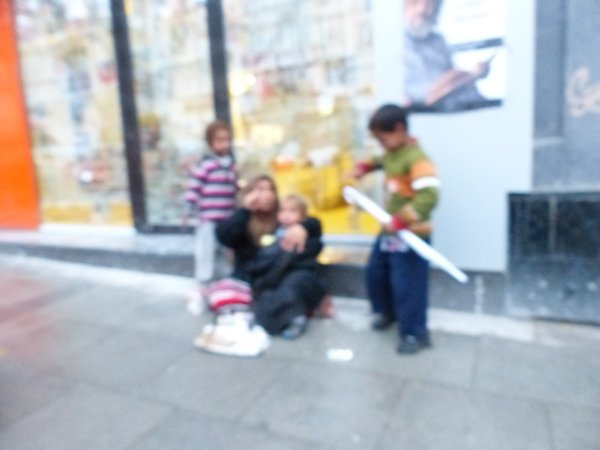 Travel thought Syrian refugees in Istanbul Turkey
