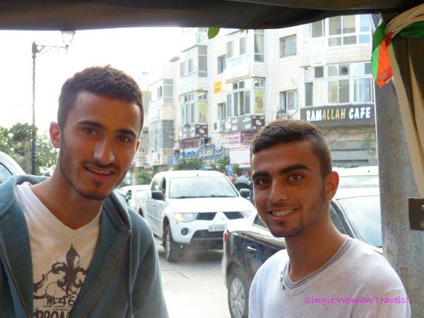 Young entrepreneurs in Ramallah Palestine