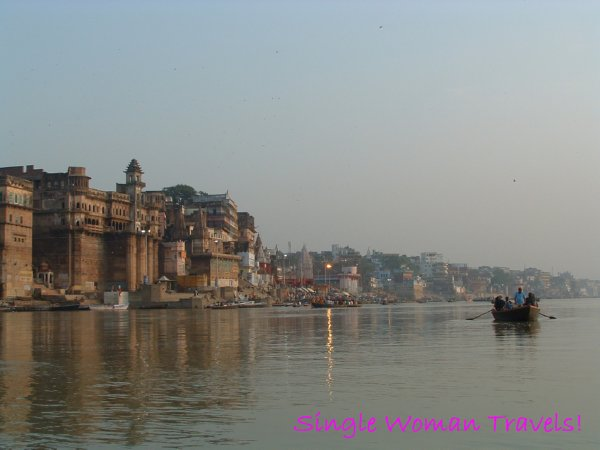 Ghats of the Ganges Varanasi India