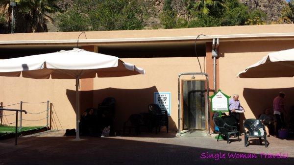 Hamat Gader Israel hot spring spa female cabana