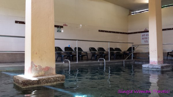 Hamat Gader Israel hot spring spa female only cabana 42 degrees
