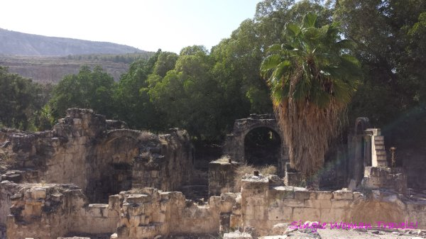 Hamat Gader Israel Roman baths ruins hot spring spa