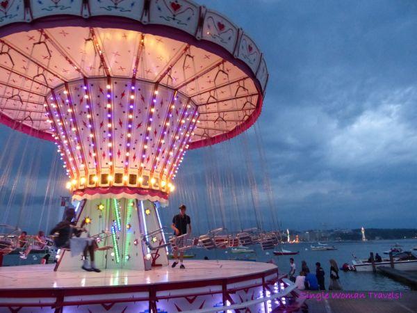 One of my favorite rides at summer festivals Geneva Switzerland