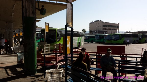 Tiberias Israel main bus station