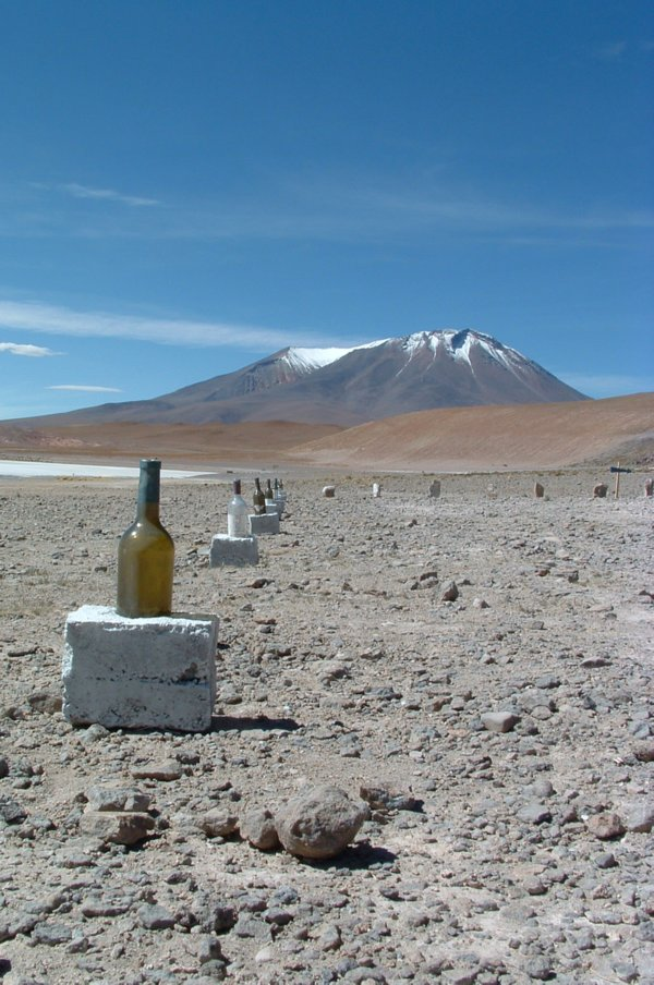 Unique landscape of Bolivia