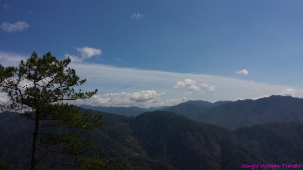 View of surrounding area in Sagada Philippines